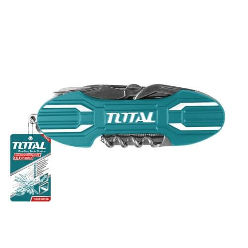 ΠΟΛΥΕΡΓΑΛΕΙΟ INOX 95MM TOTAL THMFK0156